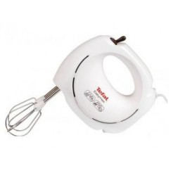 Tefal HT2501 Easy Max Handmixer Wit