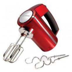 Morphy Richards 48989 Accents Rood - Handmixer, 300 W, 5 Standen